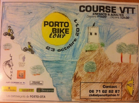 Haut Bugey VTT : Corsica Porto Bike Tour