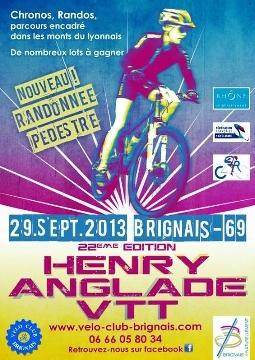 Haut Bugey VTT : Henry Anglade Brignais