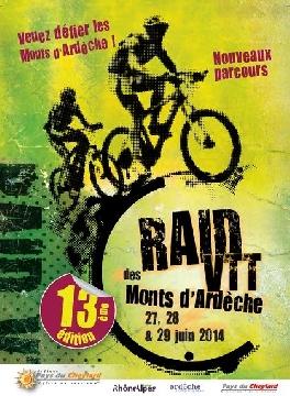 Haut Bugey VTT : Raid Monts d'Ardêche