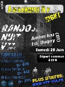 Haut Bugey VTT : Ambarroise By Night