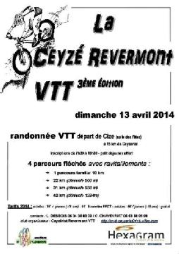 Haut Bugey VTT : Ceyzé Revermont