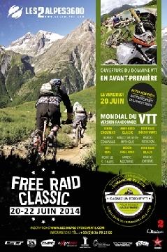 Haut Bugey VTT : Free Raid Classic 2 Alpes