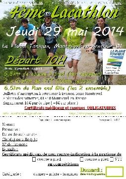 Haut Bugey VTT : Lacathlon