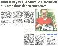 Haut Bugey VTT : HB VTT s'affiche dans le progrès