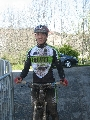 Haut Bugey VTT : Premier podium de l'année pour Louison !